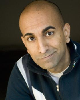 Rajiv Satyal will be performing his show, No Man's Land, this Saturday evening at the Aronoff Center.