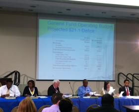 Cincinnati budget hearing Wednesday evening in Bond Hill.