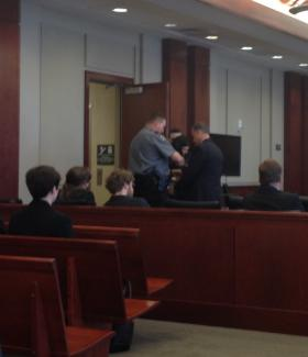 Scott Eaton was taken into custody immediately after his sentencing.
