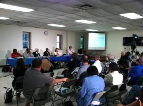 Second Cincinnati budget hearing held Wednesday night at Oakley Community Center.