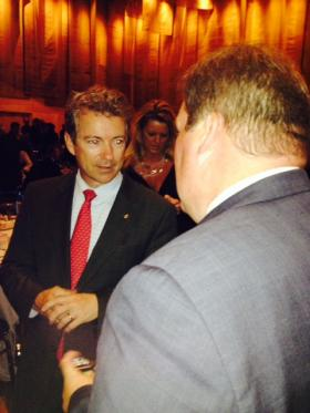 Sen. Rand Paul at Hamilton County Lincoln-Reagan Dinner