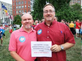 Ronny Watson and Mike Boberg of Anderson Township.