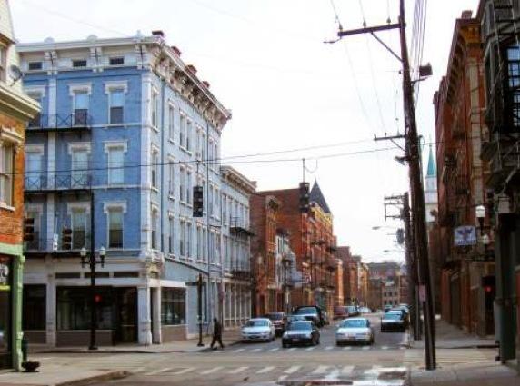 This Over-the-Rhine intersection is next for improvments aimed at connecting the casino through the Gateway Quarter to Wasington Park.