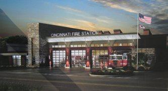 Rendering of new Station 35 in Westwood