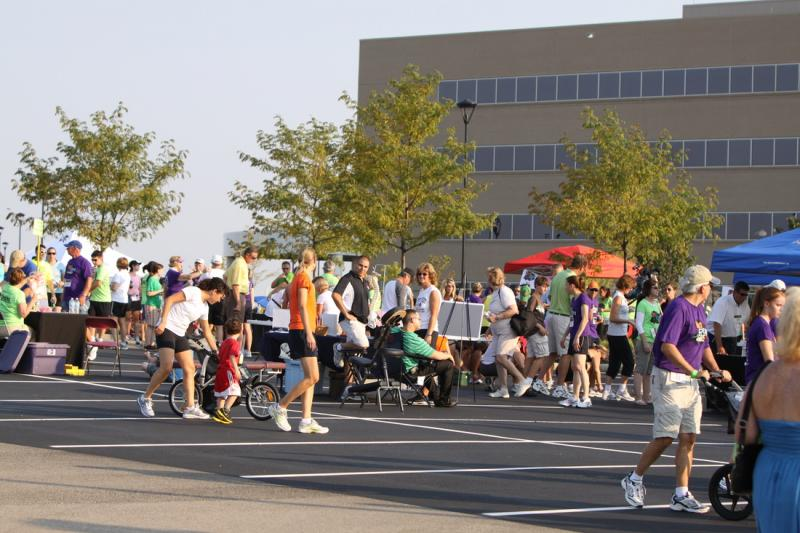 Scene from last year's One Fun Run or Walk 5K in West Chester