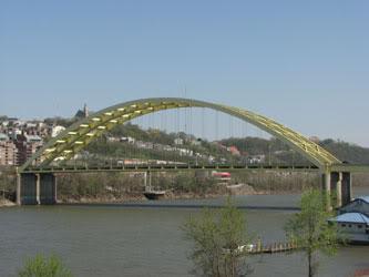 The Daniel Carter Beard Bridge on I-471