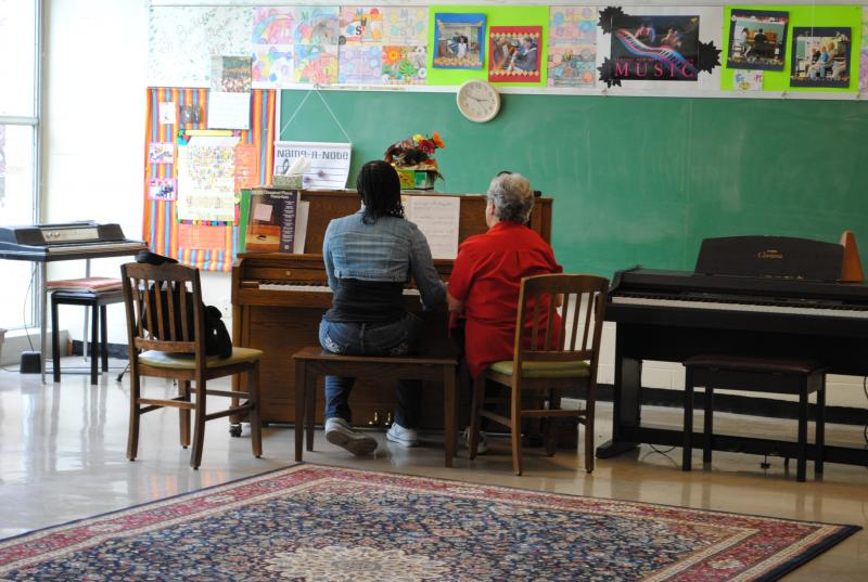 Piano Lessons and Performance is am important attribute of the Center