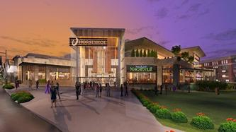 Rendering of Horseshow Cincinnati casino