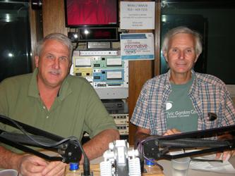 David Koester and Peter Huttinger in the WVXU Studio