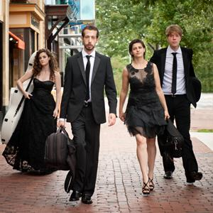 CCM's Quartet-in-Residence Ariel String Quartet