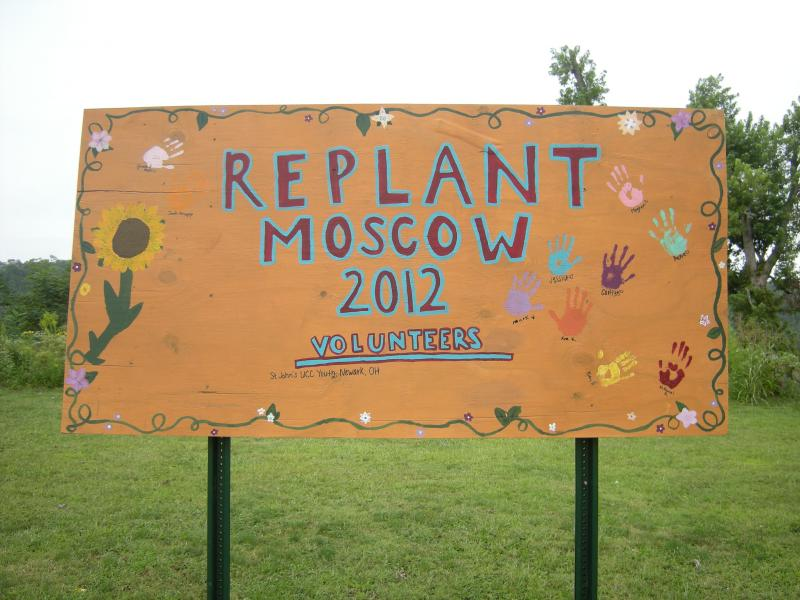 Moscow is rebuilding and replanting