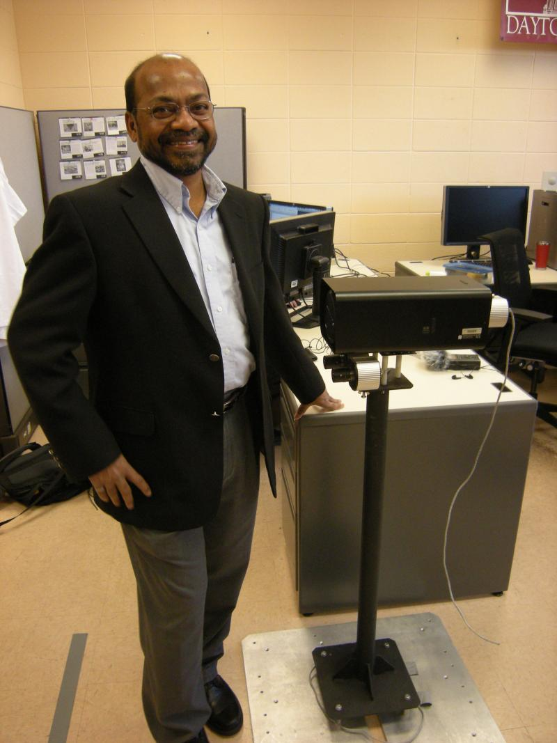 Vijayan Asari, UD professor of electrical and computer engineering