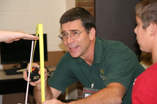 Teacher Doug Noxsel