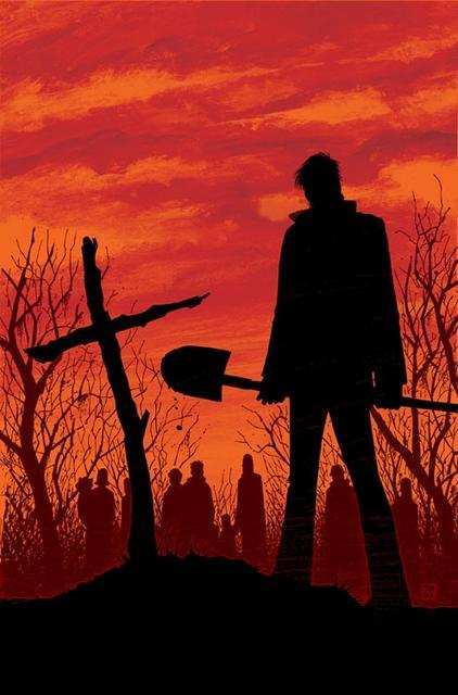 "The cover of ""The Walking Dead"" #6 by Tony Moore"