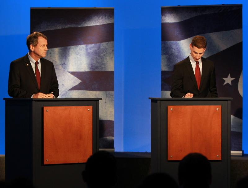 Sherrod Brown and Josh Mandel square off Thursday evening at CET in the final of three debates.