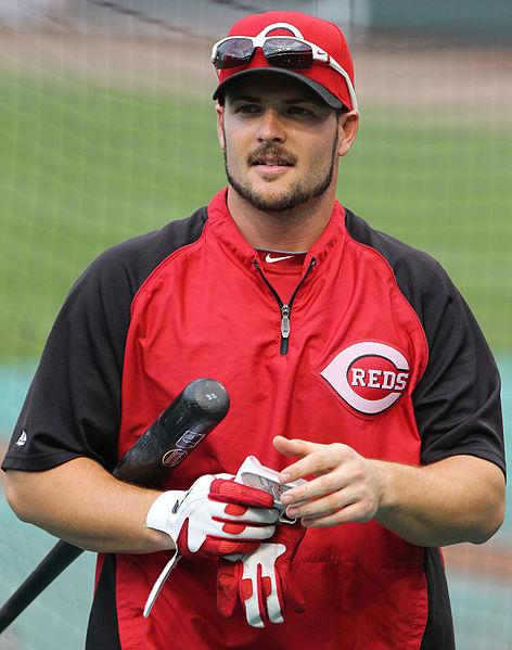 Chris Heisey says if you are not nervous there's something wrong with you