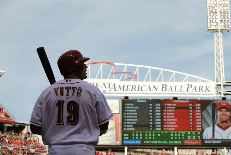 Joey Votto at Great American Ballpark