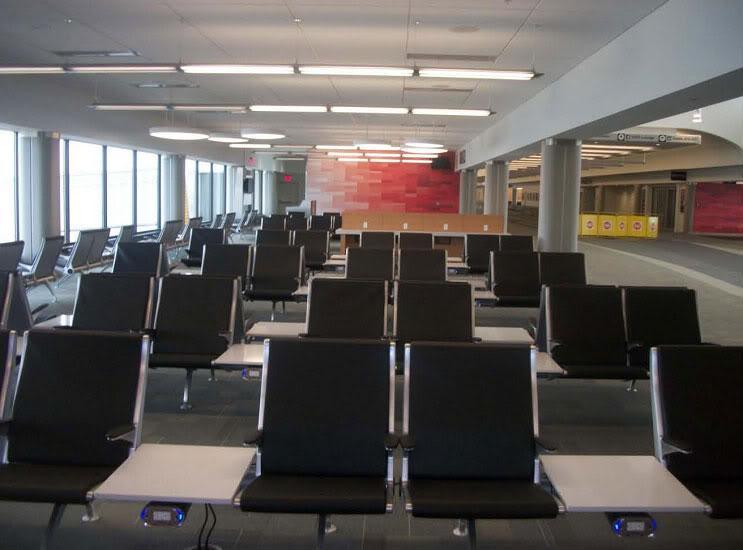 CVG main terminal