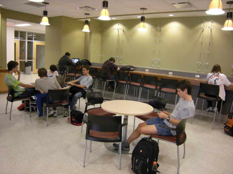 The Learning Center in UC's engineering education department