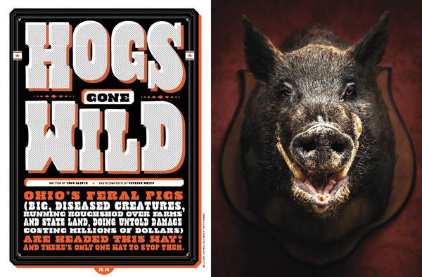 """Hogs Gone Wild"" article - Cincinnati Magazine November 2012"