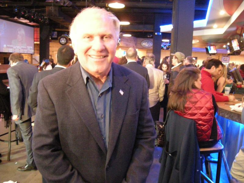 Congressman Steve Chabot at the Hamilton County Republican watch party