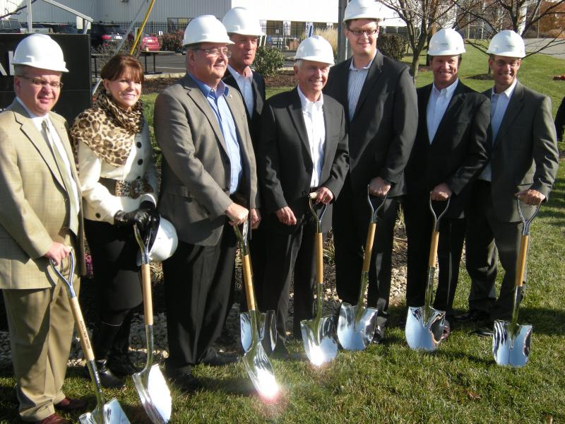 State lawmakers, The Governor, and company officials break ground
