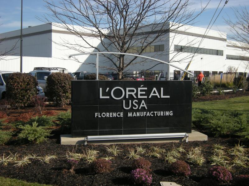 L'Oréal announced an expansion in Florence in November, 2012.
