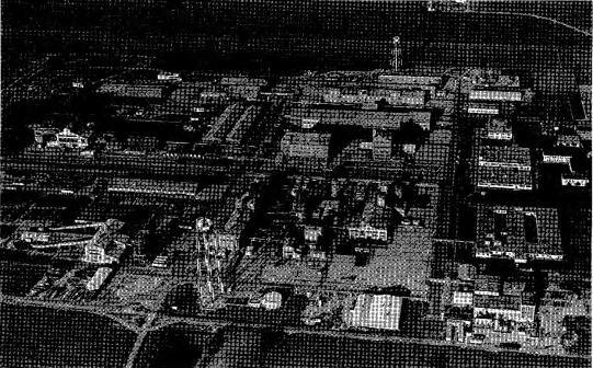 The former Fernald uranium processing plant