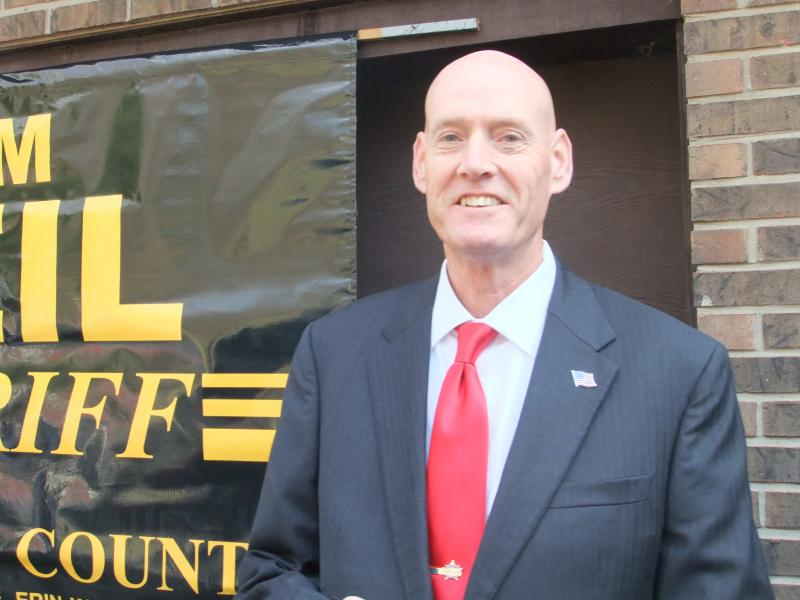 Sheriff-elect Jim Neil