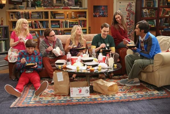 """The cast of """"The Big Bang Theory"""""""