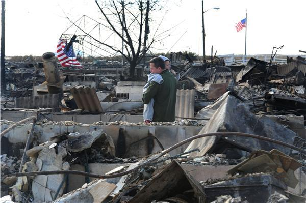 Image from after Hurricane Sandy