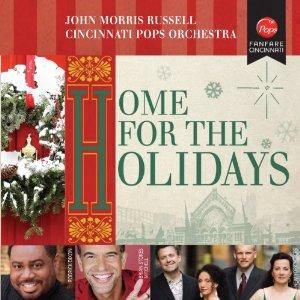 Home for the Holidays CD by the Cincinnati Pops