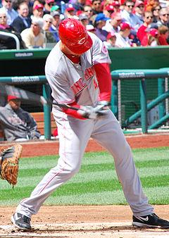 Reds outfielder Ryan Ludwick