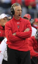 Tuberville coached Texas Tech to a 7-5 mark  this season.  The Red Raiders will play in the 2012 Meineke Car Care Bowl of Texas.