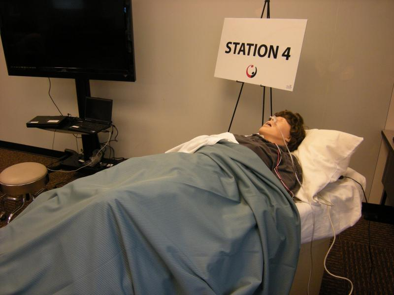 1.Nursing students also practice on computerized patients