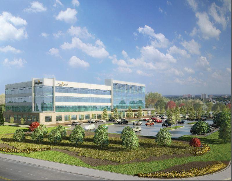Paycor's new building will be open in 2014 .