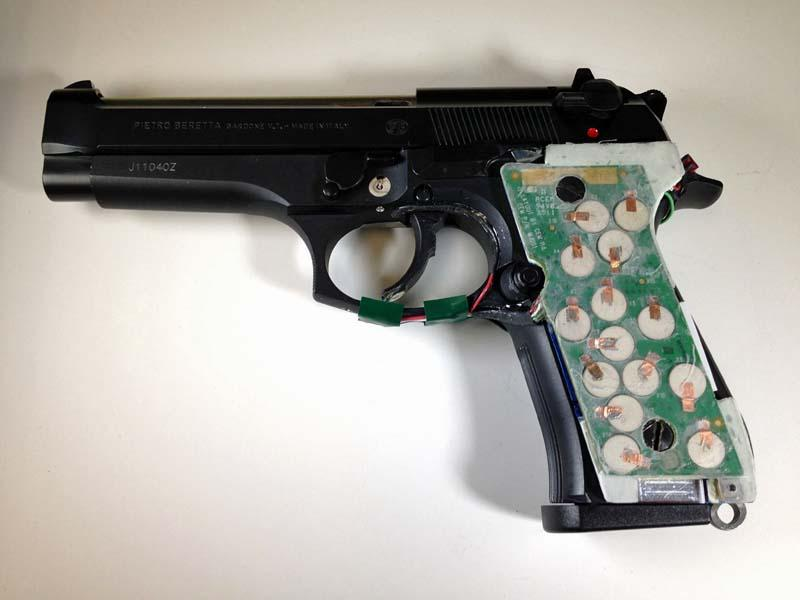 This 9mm, developed by NJIT, is still in the lab and awaiting commercial funding