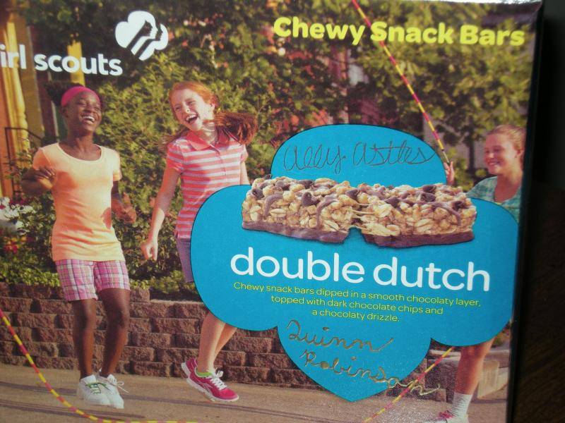 Double Dutch Cookie snack bar box