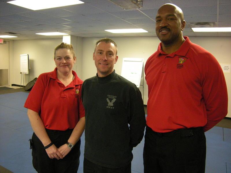 Cincinnati Police Officer Amy Moore, Sgt. Ron Hale, Sgt. Dwayne Wilson