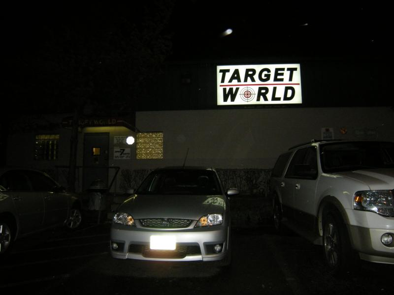 Customers at Target World were open to the concept of personalized weapons but didn't want them forced on people.