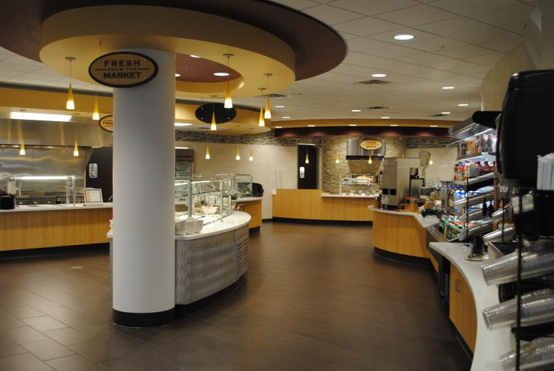 The facility has a bistro with a staff chef.