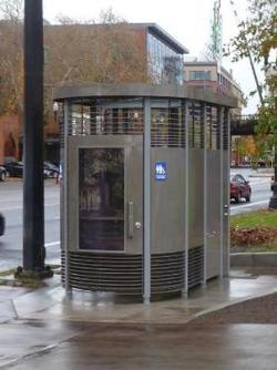 """Portland Loo"" in Portland, Oregon"