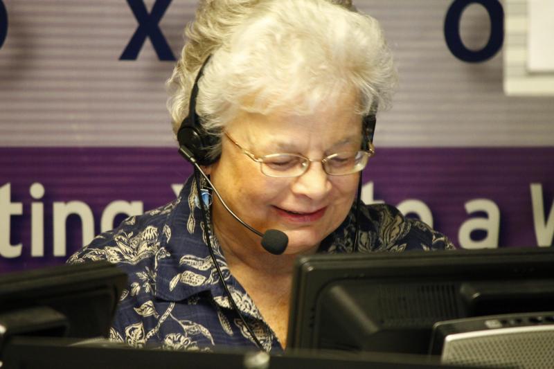 One of public broadcasting's best volunteers!