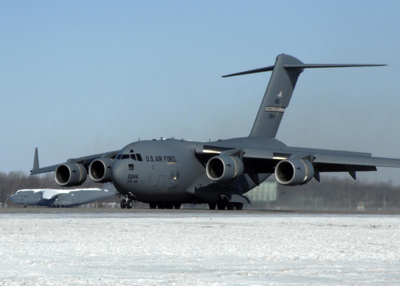 C-17's are the primary aircraft flying out of Wright-Patt.
