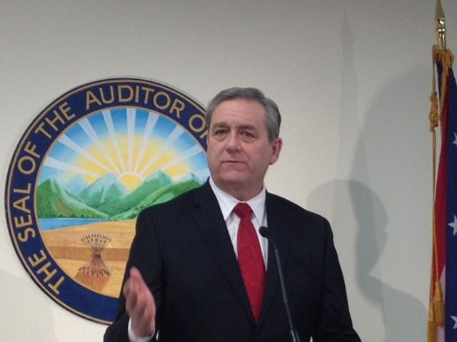 Ohio Auditor Dave Yost when he first made the scrubbing allegations in February 2013.