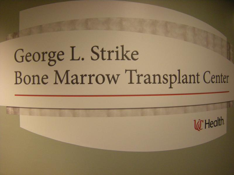 The new Bone Marrow Transplant Center was dedicated earlier this month.