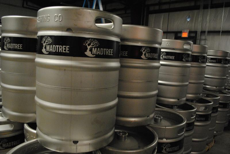 Currently available in draft and half-gallon growlers, Mad Tree beers will soon be availble in standard 12-oz. cans