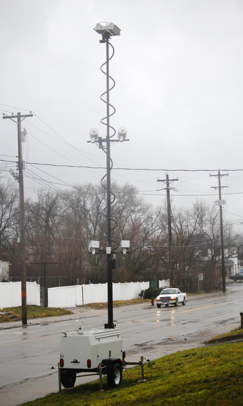 Traffic camera's are no longer allowed to be used in Elmwood Place.
