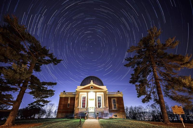 The Cincinnati Observatory in Mt. Lookout.