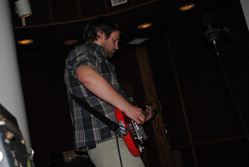 Dabney Teen on bass